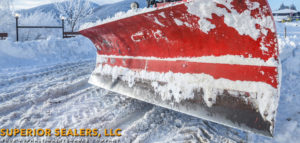 Snow Removal at Superior Sealers, LLC